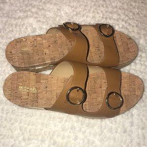 🆕 NWOB Michael Kors Leather Sandals 10
